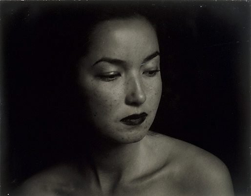 An image of Untitled (Asian woman, head study-large)