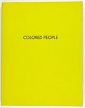 An image of Colored people by Edward Ruscha