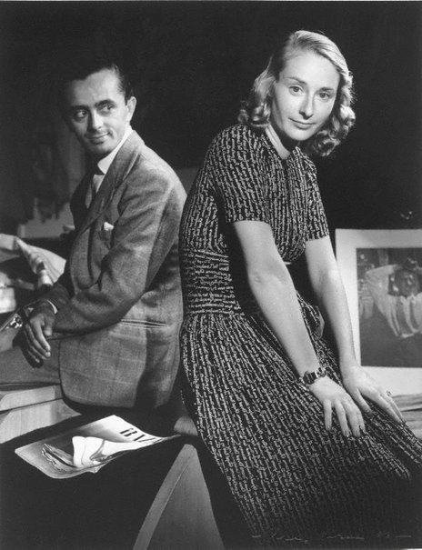 An image of Mr & Mrs Larry Adler by Max Dupain