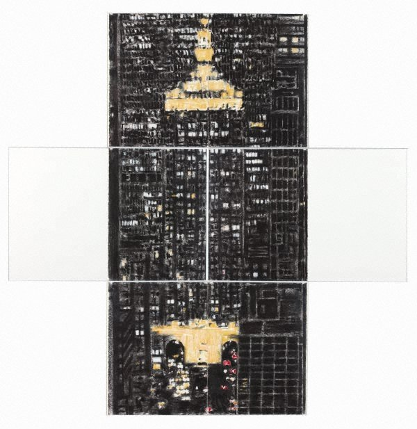 An image of Untitled (Tower and white)