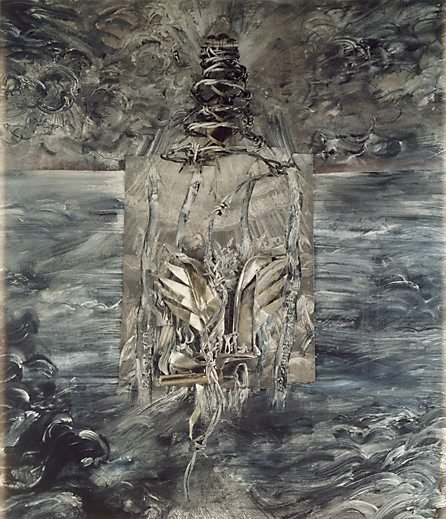 An image of Purgatory, Canto II: The approach to the mountain of purgatory by Fiona Hall