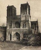 Notre Dame, Paris, 1928 by Lloyd Rees