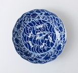 Alternate image of Dish with sea and rock motifs by
