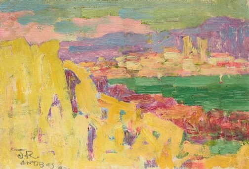 An image of Antibes by John Russell