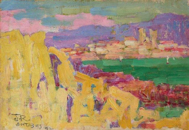 Antibes, (circa 1890-circa 1892) by John Russell