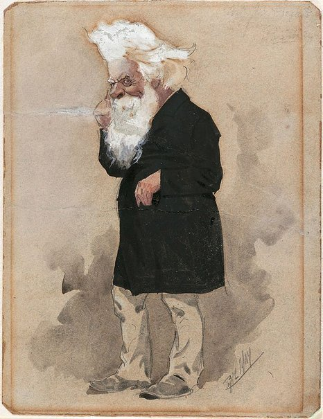 An image of Sir Henry Parkes by Phil May