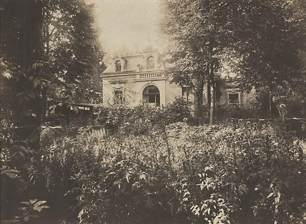 An image of Max Klinger's house in Leipzig