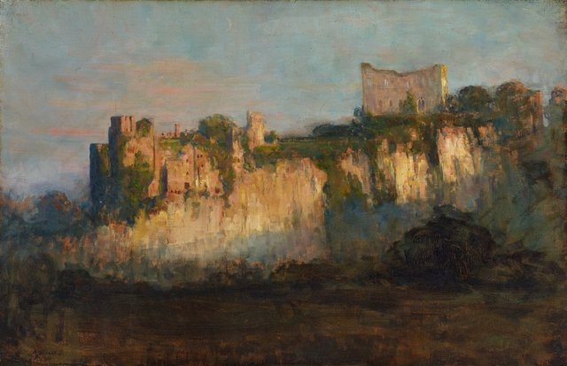 An image of Chepstow Castle
