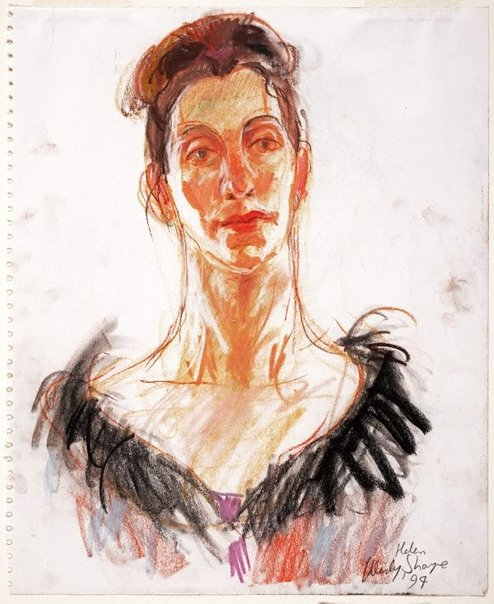 An image of Helen by Wendy Sharpe
