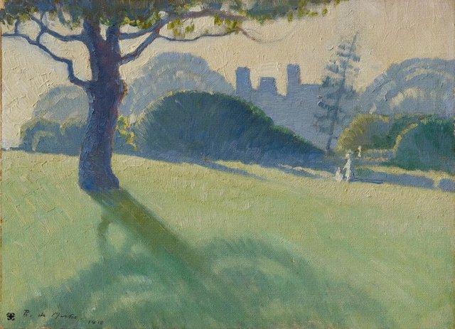 Botanical Gardens, Sydney, (1918) by Roy de Maistre