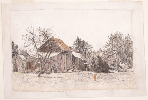 An image of The sunny farm by Sydney Ure Smith