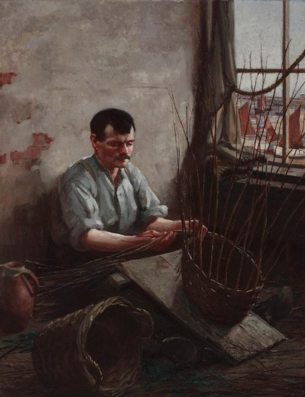 An image of (The basket maker)