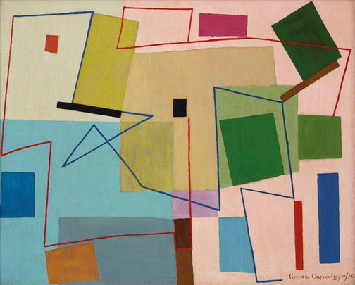 An image of (Abstract painting) by Grace Crowley