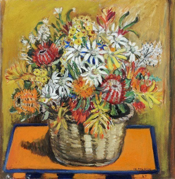 An image of (Still life with national flowers)
