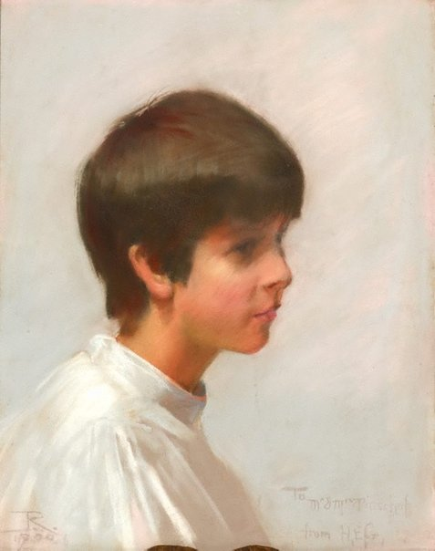 An image of Louise Pinschof by Tom Roberts