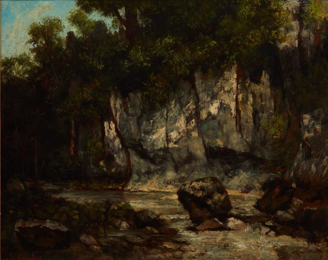 An image of Landscape with stag