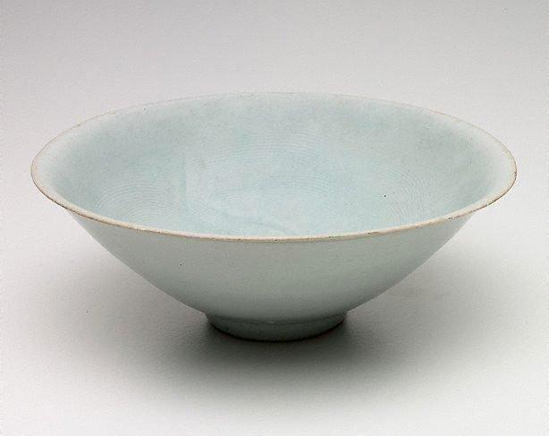 An image of Qingbai conical bowl
