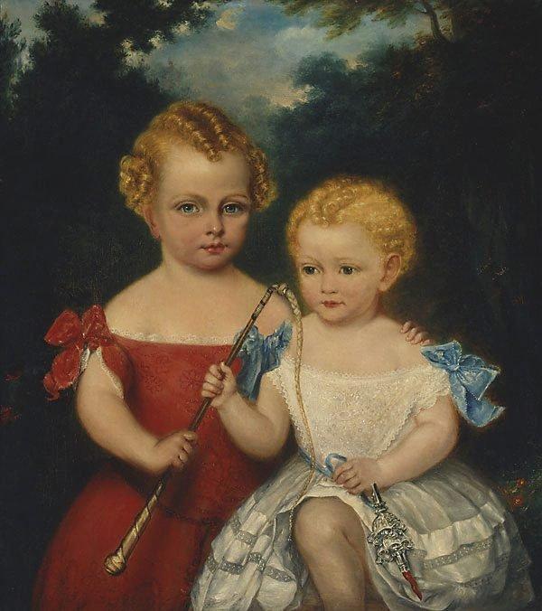 An image of The Russell-Jones children