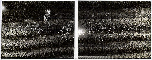 Names, (1992, printed circa 1996) by William Yang