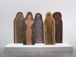 the guardians, (1986-1987) by Judy Watson