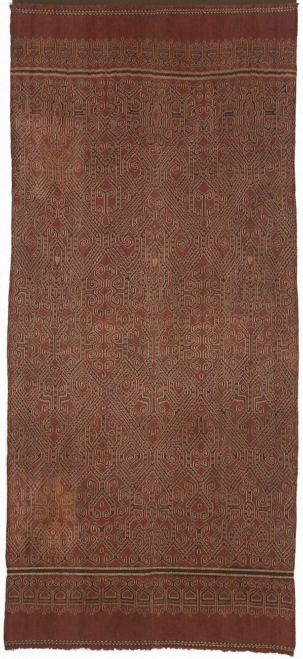 An image of Ceremonial cloth (pua kumbu)