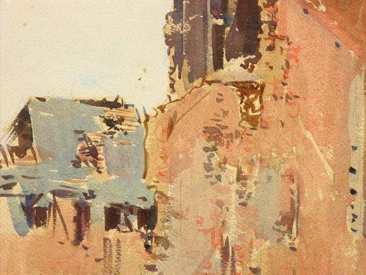 Alternate image of Ruins, Peronne by Arthur Streeton