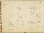 Alternate image of Sketchbook by Arthur Fleischmann