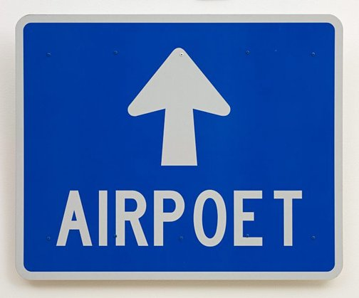 An image of Airpoet by Richard Tipping