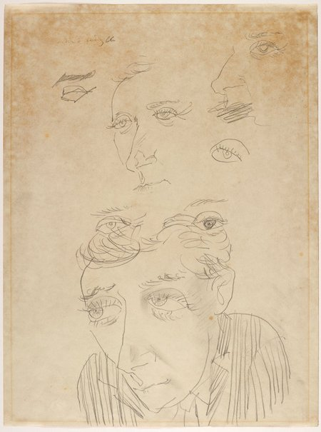 An image of Portrait study of Charles Blackman 1966 Archibald by Jon Molvig