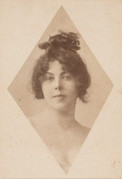 An image of Head of Elsa Asenijeff by A and F Nauman