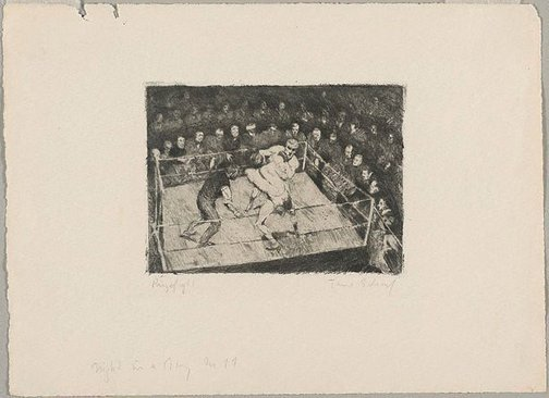 An image of Prizefight by Theo Scharf