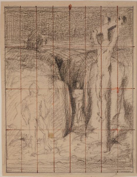 An image of (Compositional study) by James Gleeson