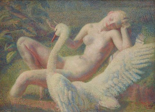 An image of Leda by Arthur Murch