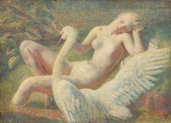 AGNSW collection Arthur Murch Leda (1935-1939) 199.1976