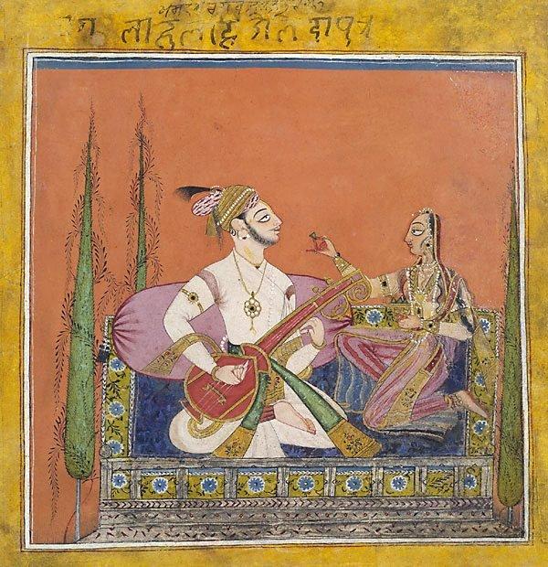 An image of Ragaputra Velavala of Bhairava
