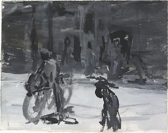 An image of Bike rider, Bagdad 2