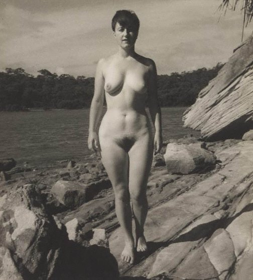 An image of Untitled nude by Olive Cotton