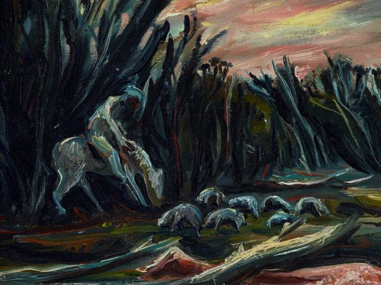 Alternate image of The shepherd by Arthur Boyd