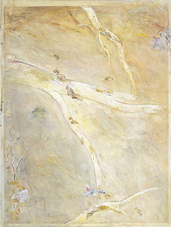 An image of Falling bark
