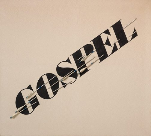 An image of Gospel by Edward Ruscha