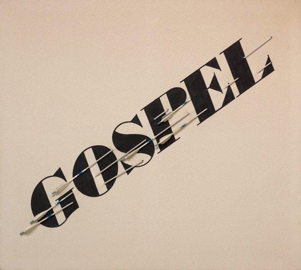 AGNSW collection Edward Ruscha Gospel (1972) 2.2013