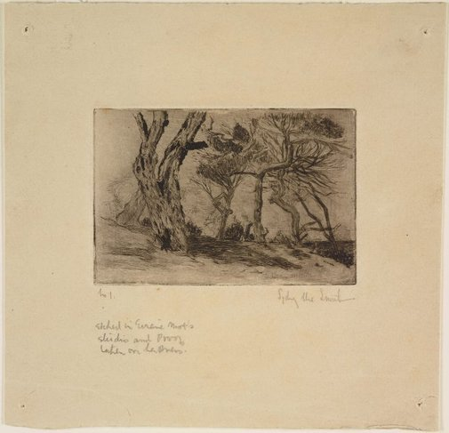 An image of Wind-swept by Sydney Ure Smith