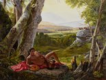 Alternate image of The allegory of painting by Kent Monkman