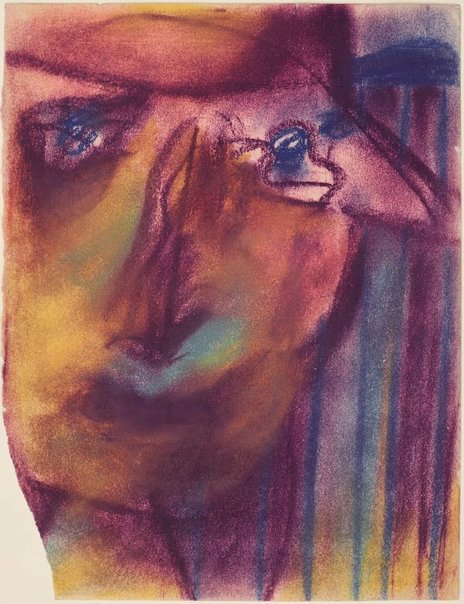 An image of Sketch for cover of 'The Vegetative Eye' by Sidney Nolan