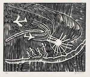 Jarlujangka Wangki (A true story), (1985) by Jimmy Pike