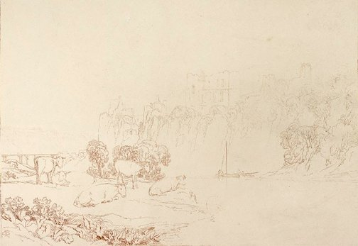 An image of River Wye by Joseph Mallord William Turner