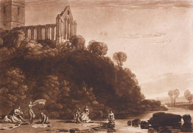 An image of Dumblain Abbey, Scotland