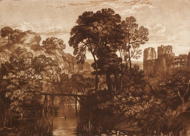 An image of Berry Pomeroy Castle