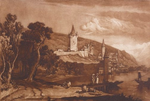 An image of Ville de Thun by Joseph Mallord William Turner