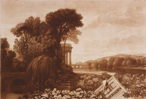 An image of Isis by Joseph Mallord William Turner